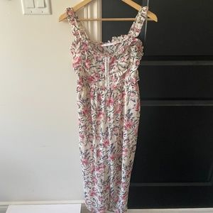 Stylenanda floral jumpsuit